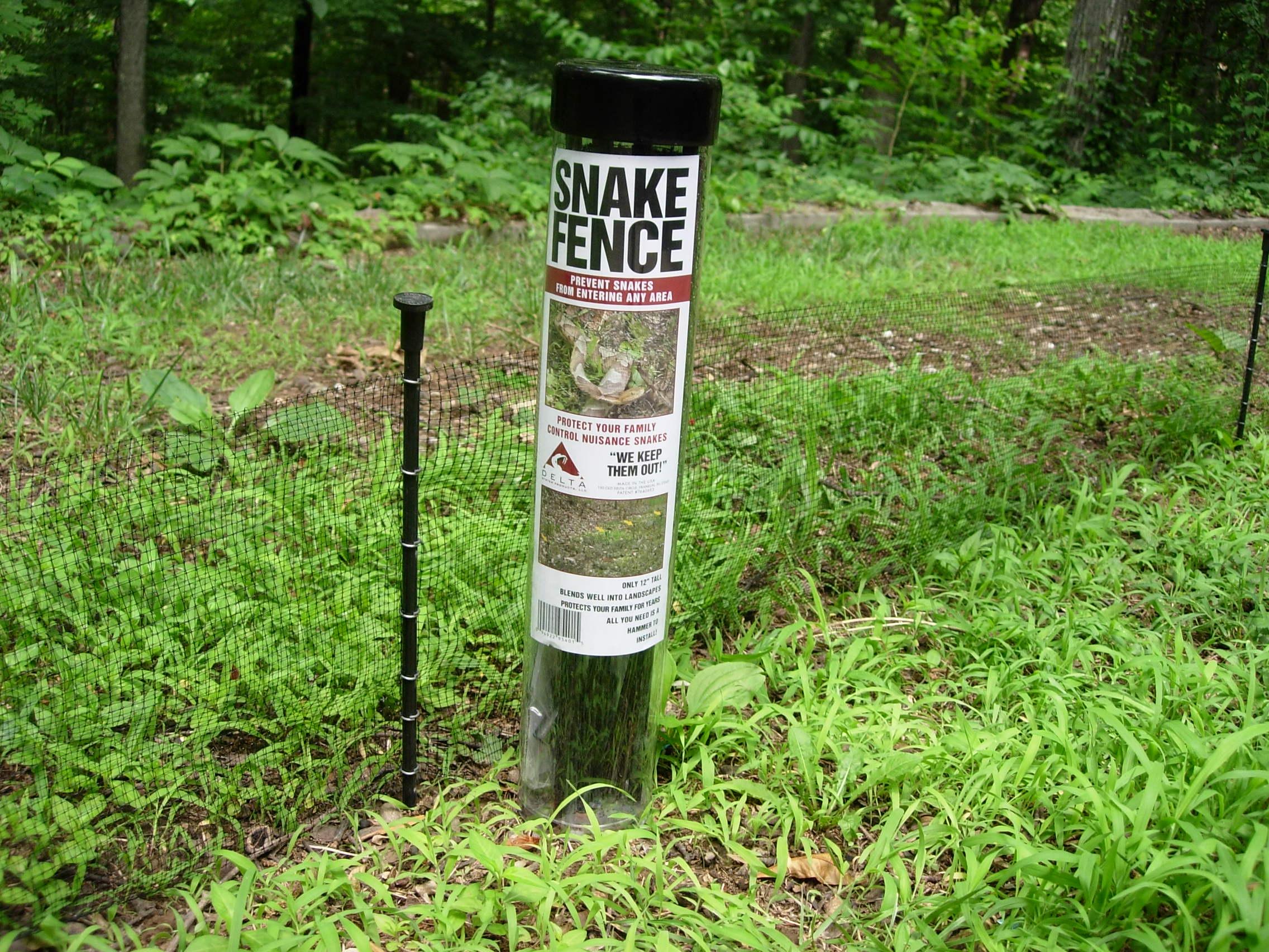 Snake Fence Barrier